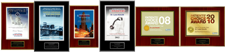 Dr krevitt named a Castle Connelly Top Doctor and Patient's Choice 2008-2010