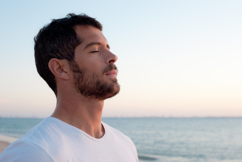 deep breathing to relieve anxiety